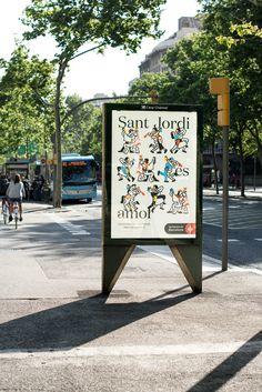 Sant Jordi Barcelona on Behance