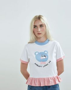 Lazy Oaf Nobody Loves Me T-shirt