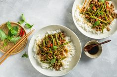 Thai Recipes, Asian Recipes, Beef Recipes, Dinner Recipes, Mince Dishes, Thai Dishes, Frozen Green Beans, Food Trends, Cooking With Kids