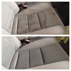 Car Upholstery Cleaner Diy, Car Seat Upholstery, Furniture Upholstery, Funky Furniture, Upholstery Cleaning, Diy Car Seat Cleaner, Diy Car Interior Upholstery, Car Interior Cleaning, Upholstery Trim