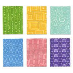 Sizzix Texturz Texture Plates - Kit # 2