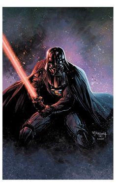 Darth Vader by Stephen Segovia & Jeremy Colwell