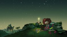 Amphibia End Credits - textless Inspirational Backgrounds, Owl House, Animated Cartoons, Master Chief, Northern Lights, Mickey Mouse, Scene, Animation, Movie Posters