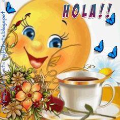 Hola,feliz domingo para todos!! Good Morning Smiley, Cute Good Morning Quotes, Happy Sunday Quotes, Good Morning Gif, Good Morning Picture, Good Morning Friends, Good Morning Greetings, Morning Pictures, Good Morning Wishes