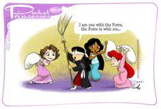 Pocket Princesses 184: How the Force WorksPlease reblog, do not...