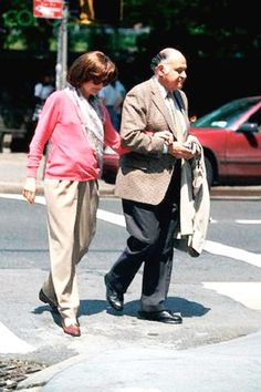 Jackie Onassis and Maurice Templesman Manhattan, New York City, New York State, USA .May 1, 1994. ❃❋✽✾❀❃ http://en.wikipedia.org/wiki/Jacqueline_Kennedy_Onassis