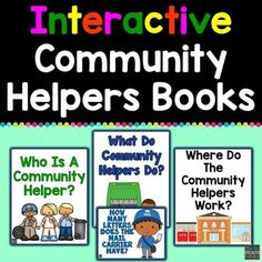 Community Helpers Preschool Activities, Crafts, Lessons, and Printables