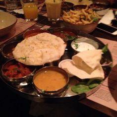 a tamatanga favourite!  the thali #tamatanga on Tagboard Fondue, Tasty, Fan, Ethnic Recipes, Photos, Pictures, Hand Fan, Fans