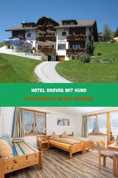 Das Hotel Gravas liegt auf einer Höhe von 1.250 m über dem Meeresspiegel umgeben von Bergen am Rande von Vella in Graubünden! Von der großen Gartenterrasse hat man einen tierischen Blick auf die Signinakette mit den Piz Ault, Piz Terri, Piz Mundaun und Piz Sez Ner.Das Hotel verfügt über ein Restaurant mit internationaler und Schweizer Küche – der Hund darf in den Essbereich mit! Das Hotel, Bergen, Hotels, Deck, Camping, Restaurant, Outdoor Decor, Home Decor, Winter Vacations