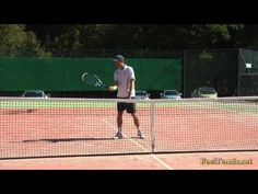 Tennis Volley Tip - How To Prepare In 2 Simple Steps - YouTube