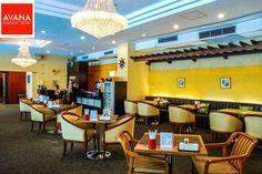 Nice atmosphere of Mana restaurant in the Avana Hotel Bangkok.