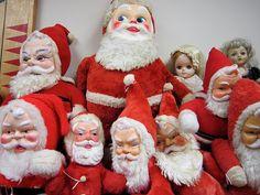 vintage santa collection - Ho Ho Ho Ho Ho Ho Ho Ho Ho Ho Ho Ho Ho!
