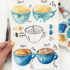 Morning ☕️ ☺️ My new tutorial is here 🎨Look out for my new video of the process on my YouTube channel soon 😉🎥 Swipe for more zoomed shots 👉…