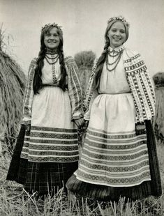 Belarusian folk costume - Slavic culture