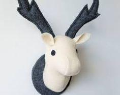 ผลการค้นหารูปภาพสำหรับ fabric deer head pattern