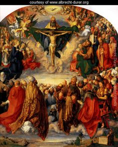 Adoration of the Trinity (or Landauer Altar) - Albrecht Durer - www.albrecht-durer.org