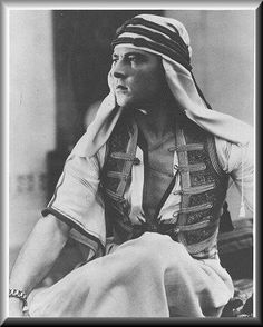 Rudolph Valentino in The Son of The Sheik, 1926
