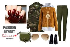 Lunes Twitter by milena-lister-quevedo on Polyvore featuring polyvore, fashion, style, Chicwish, Ash, Persaman New York, Kim Rogers, Ray-Ban and clothing
