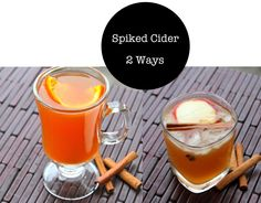 1000+ images about Drinks on Pinterest | Spiked Cider, Hangover Cures ...