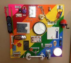 DIY Tablica manipulacyjna - 14 pomysłów - Kiedy mama nie śpi