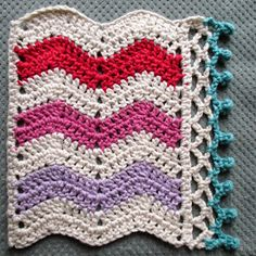 Here is the tutorial for the very pleasing bobbly edging I used to finish off Martha's blanket (and in case you missed it,thisis the pat...