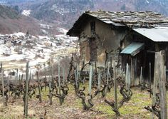 Smallholding, Bride les Bains, Trois Vallees by Mike Birch