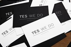 Yes we do (Logo by Charlotte Hertsens Design)