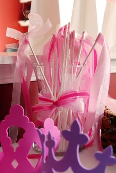 Princess ribbon wands