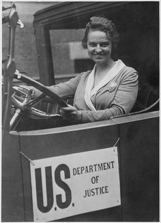 Woman Member of the Secret Service, Olive H. Doyle by The U.S. National Archives, circa 1920
