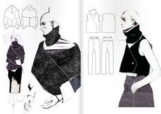 fashion portfolio Fashionary Hand - A Fas - fashion Fashion Illustration Sketches, Fashion Sketchbook, Illustrations, Fashion Sketches, Artistic Fashion Photography, Fashion Photography Inspiration, School Fashion, Punk Fashion, Fashion Portfolio Layout