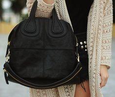 4cefff46229f Givenchy Nightingale Black  Designerhandbags Coco Chanel