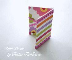 マジックカードケースの作り方 | Cami Decor