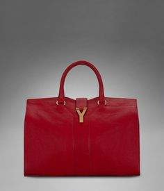 I've ALWAYS wanted a striking red handbag and I love YSL's version.