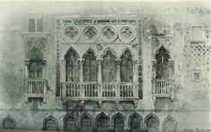 [A3N] : Windows of the third and fourth order, Casa Segredo, Grand Canal, Venice / John Ruskin