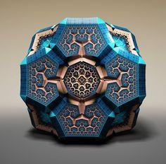 Diese digitalen Fraktale sind echte geometrische Wunderwerke   The Creators Project
