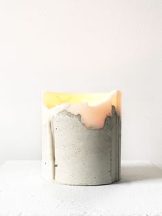 It's more than a candle...as it burns the object goes through beautiful stages. When it's fully used up, clean out the leftover wax and use it as a business card holder, or a special place for an airp