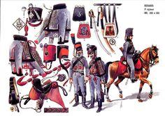 Les cavaliers de la Grande Armée :: 3ème hussards