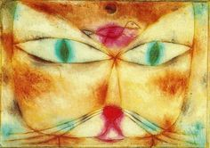 Paul Klee - Katse und Vogel.