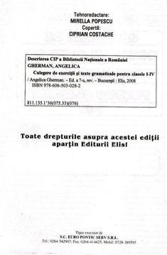 201944440 carti-culegere-de-exercitii-si-texte-gramaticale-clasele-1-…