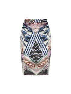 153c8e5fbda Veronika Maine Digital Kaleidoscope Skirt - I bought this one today  )
