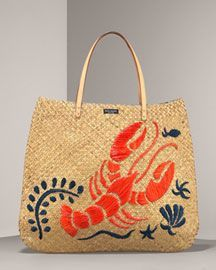 Lobster bag by Kate Spade  I love this and saw it at Nordstrom Rack...did I buy it, of course not!  Such regret!