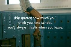 True.  i miss my time with friends and the confidence we all had in us and our future  :)