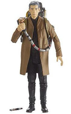 "196). The Twelfth Doctor (with Sonic Screwdriver and backpack) (from the Caretaker) (3.75"" figure)"