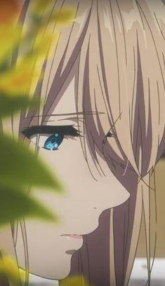 violet evergarden Sad Anime, Anime Love, Manga Anime, Violet Evergarden Wallpaper, Violet Evergreen, Violet Evergarden Anime, Kyoto Animation, Satsuriku No Tenshi, Beautiful Anime Girl