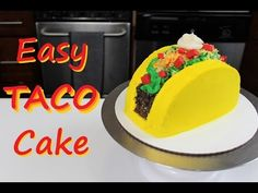 The perfect Cinco de Mayo Cake! This easy taco cake is just as much fun to make as it is to eat!! The full recipe and tutorial are included here