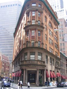 New York city. building near the stock exchange. picture taken by connie jean klein