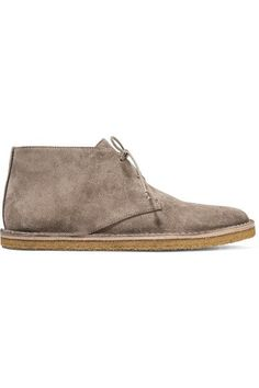 Vince - Parsons Suede Desert Boots - Taupe - US8.5