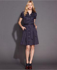 Tommy Hilfiger Tjw Flannel Shirt Dress Vestito Donna