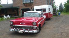 Old Campers, Chevy, Restoration, Vintage, Vintage Comics
