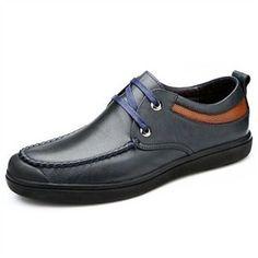 Giày da nam Olunpo QJY1404 dáng thể thao
